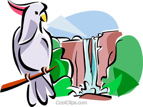 480x360 Australian Kakadu National Park Royalty Free Vector Clip Art