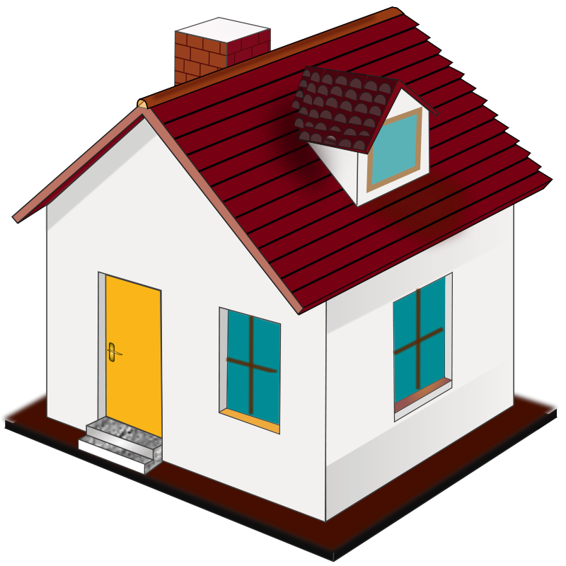 800x800 Building Houses Clipart