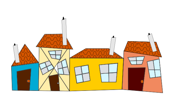 600x350 Crazy Houses Png Clip Arts For Web