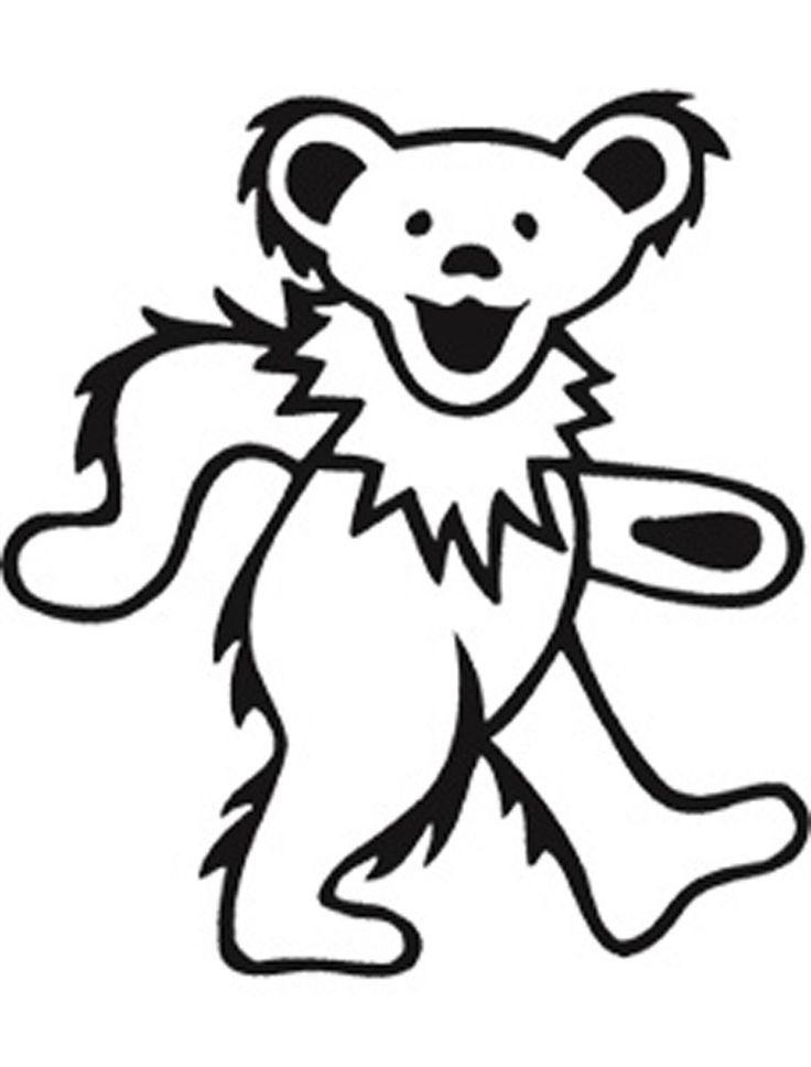 736x968 Dancing Bears Grateful Dead Clip Art Clipart