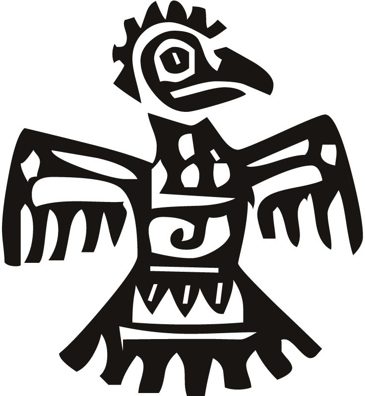 736x800 Aztec Clipart Black And White