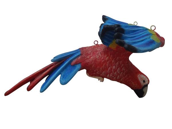 600x450 Flying Macaw Parrot Bird Resin Statue Prop