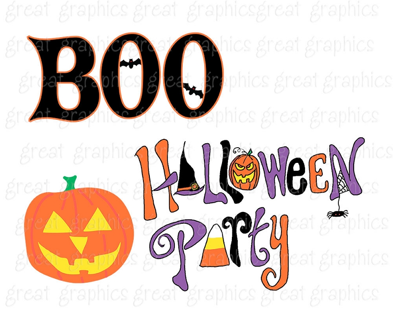 800x640 Free Halloween Party Clipart
