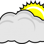 150x150 Partly Cloudy Clipart