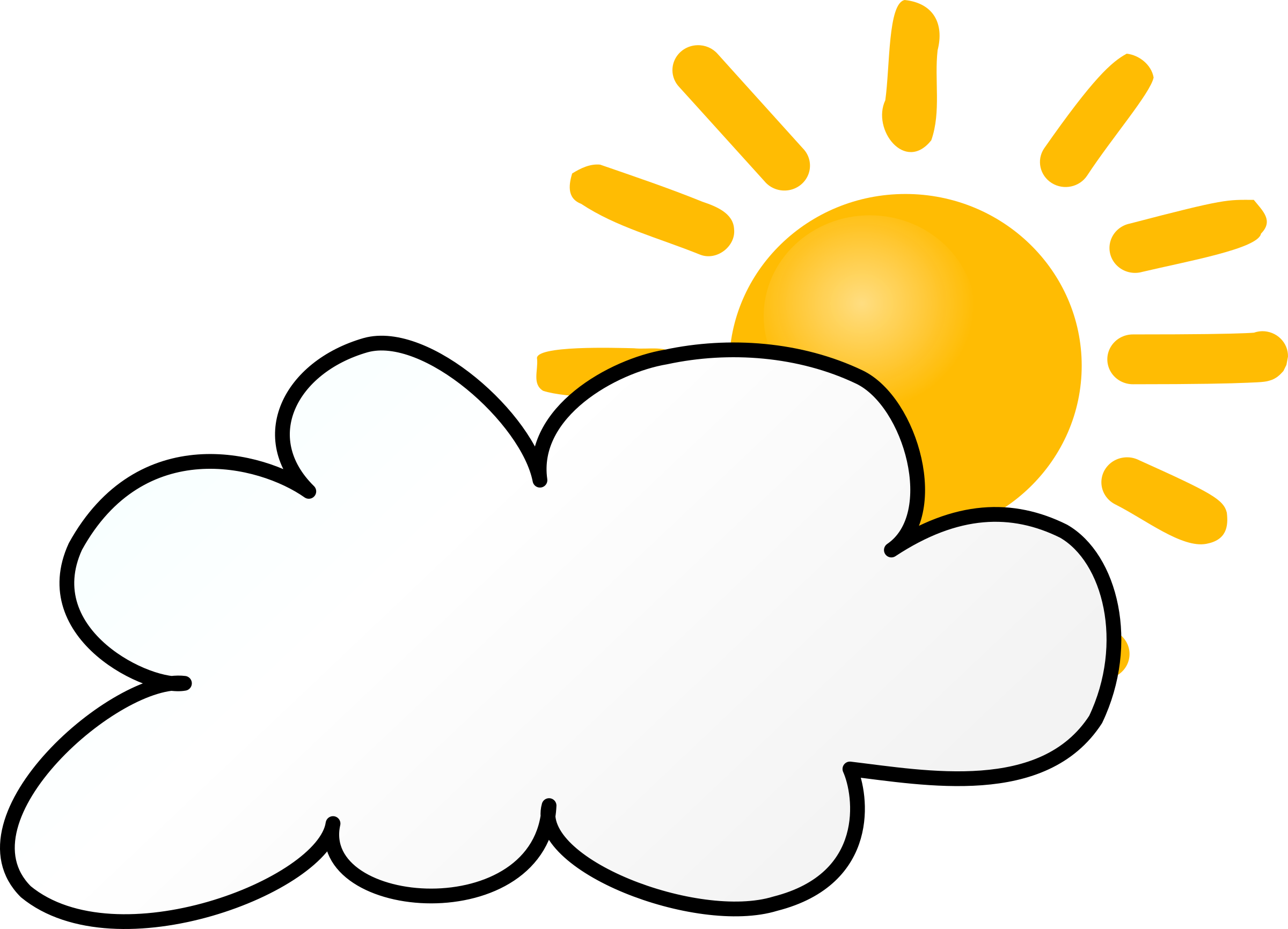 2400x1732 Clip Art Partly Sunny Partly Rainy Clipart 1958667