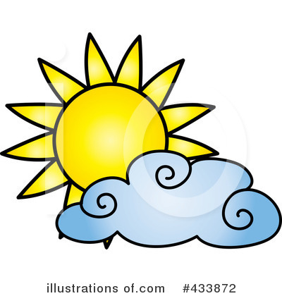 400x420 Partly Cloudy Clipart Cliparthut