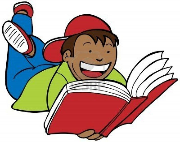 Partner Reading Clipart