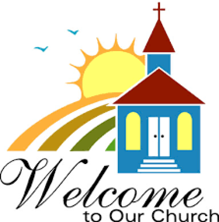 900x912 Church Clipart Church Welcome