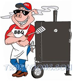 245x273 Bbq Smoker Clip Art Free Pig Chef Leaning On Bbq Smoker Photos
