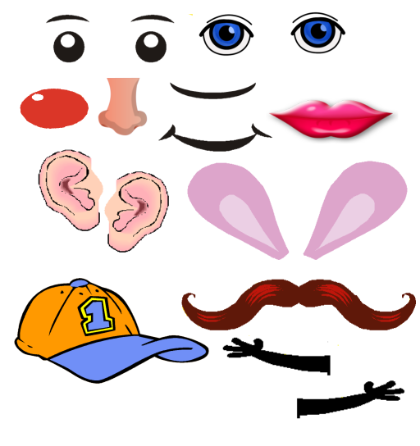 Parts Of The Body Clipart