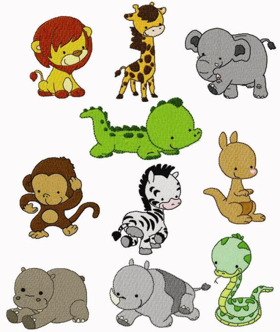 563x668 Free Zoo Animal Clipart