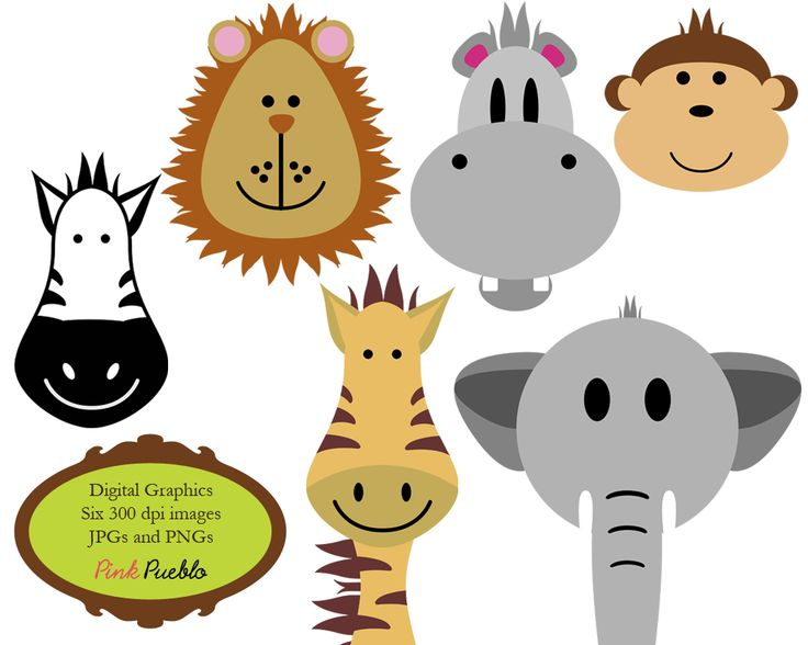 736x588 8 Best Jungle Clip Art Images Animal Prints, Doodle