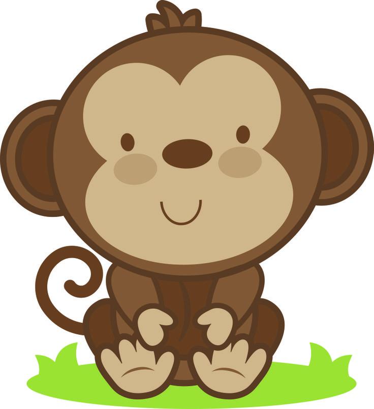 736x805 Animal Clipart Monkey