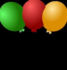 Party Balloon Clipart