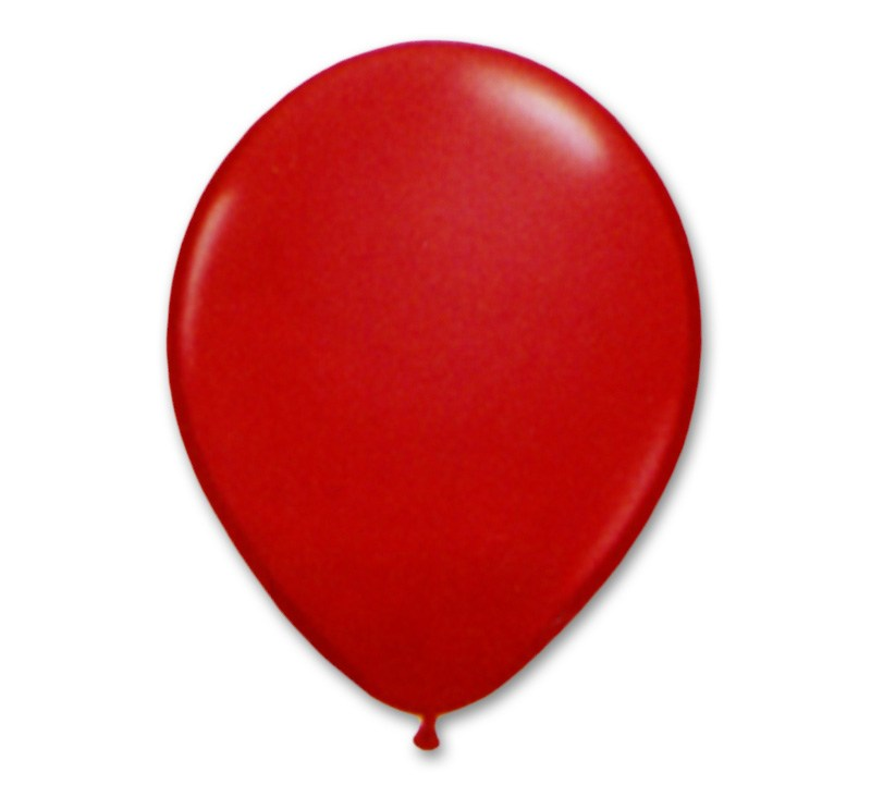800x721 Apple Red Latex Party Balloon 12 Inch Inflated