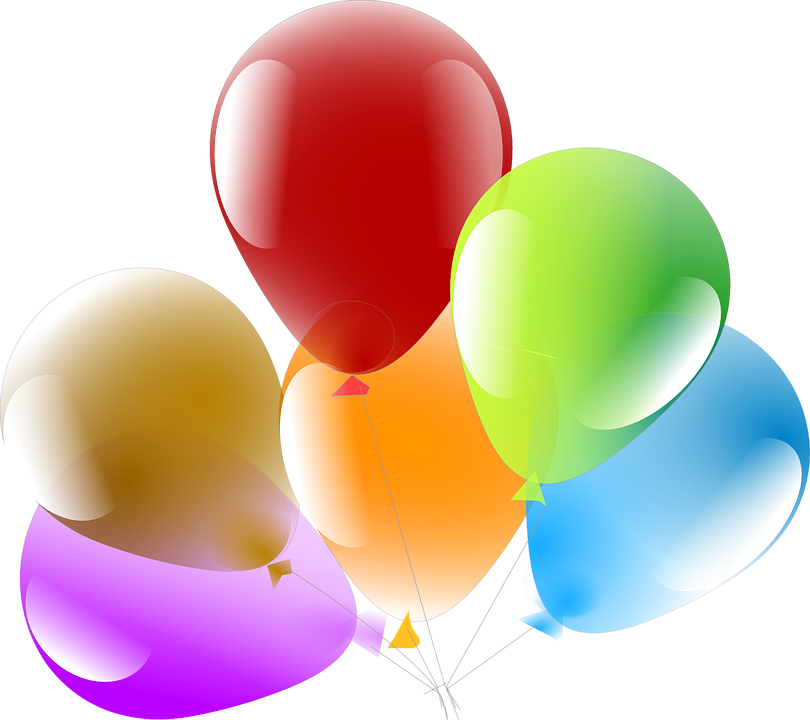 810x720 Free Photo Colors Floating Celebration Balloons Party