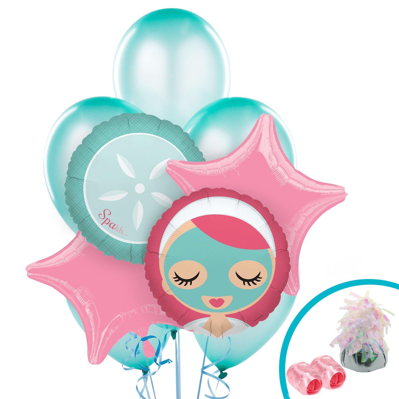 1600x1600 Little Spa Party Balloon Bouquet