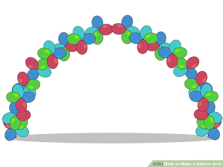 728x546 3 Ways To Make A Balloon Arch