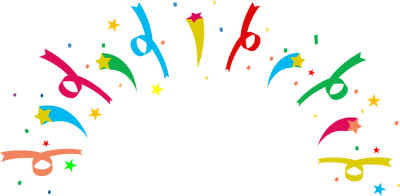 400x196 Party Balloons And Confetti Free Clipart Images 3