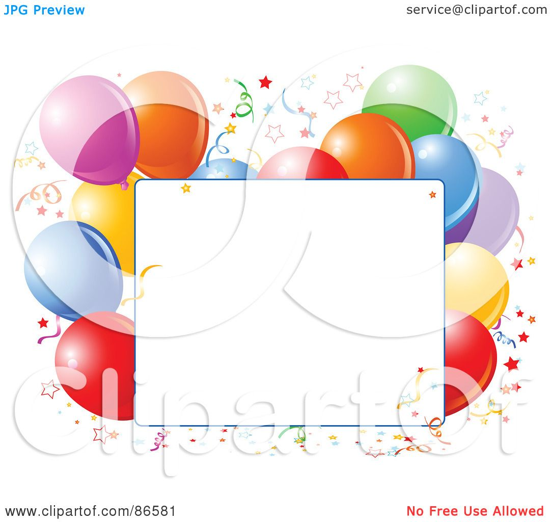 1080x1024 Royalty Free (Rf) Clipart Illustration Of A Blank Text Box