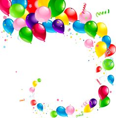 236x240 Party%20balloons%20and%20confetti Klipart