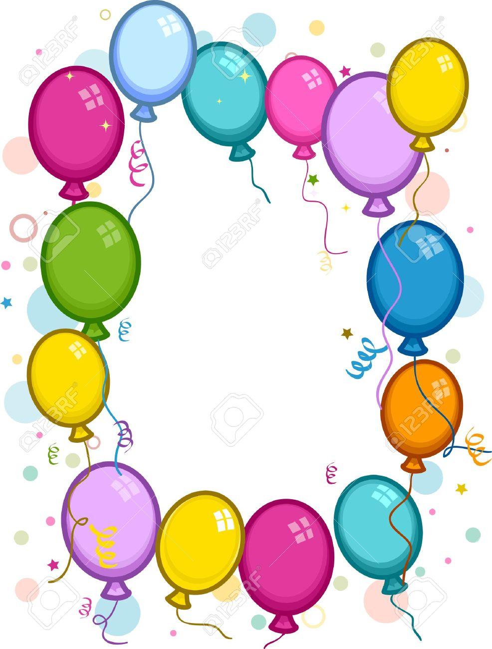 986x1300 Balloon Clipart Confetti