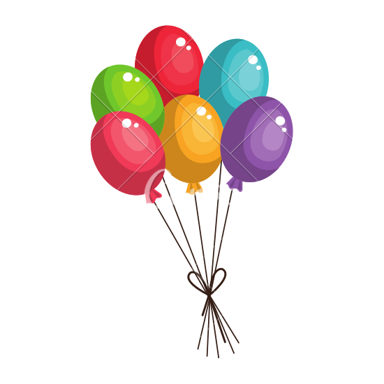 550x550 Party Balloons