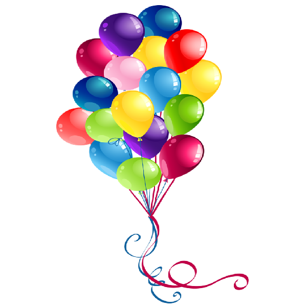 600x600 Party Balloons