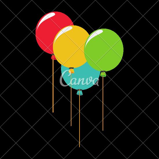 550x550 Party Balloons Celebration Icon