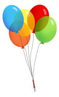 190x311 Party Balloons Clip Art Cliparts