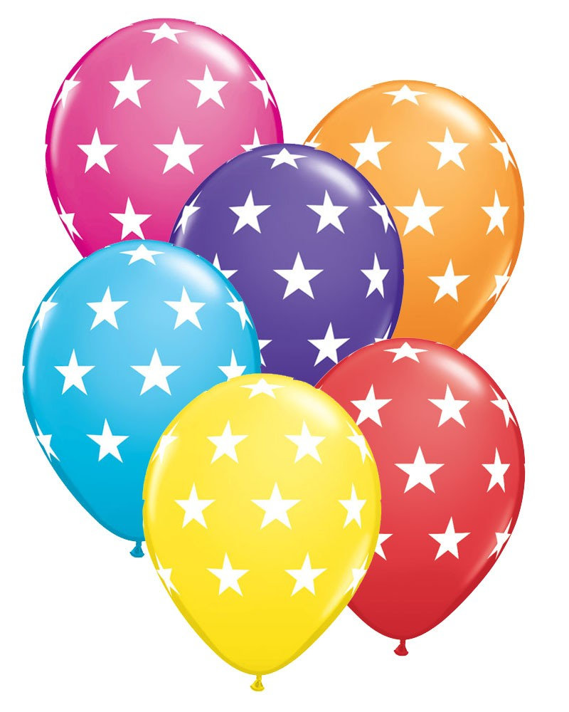 800x1000 Star Print Party Balloons Party Fever Party Fever
