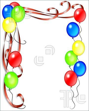 360x450 Clipart Birthday Invitations