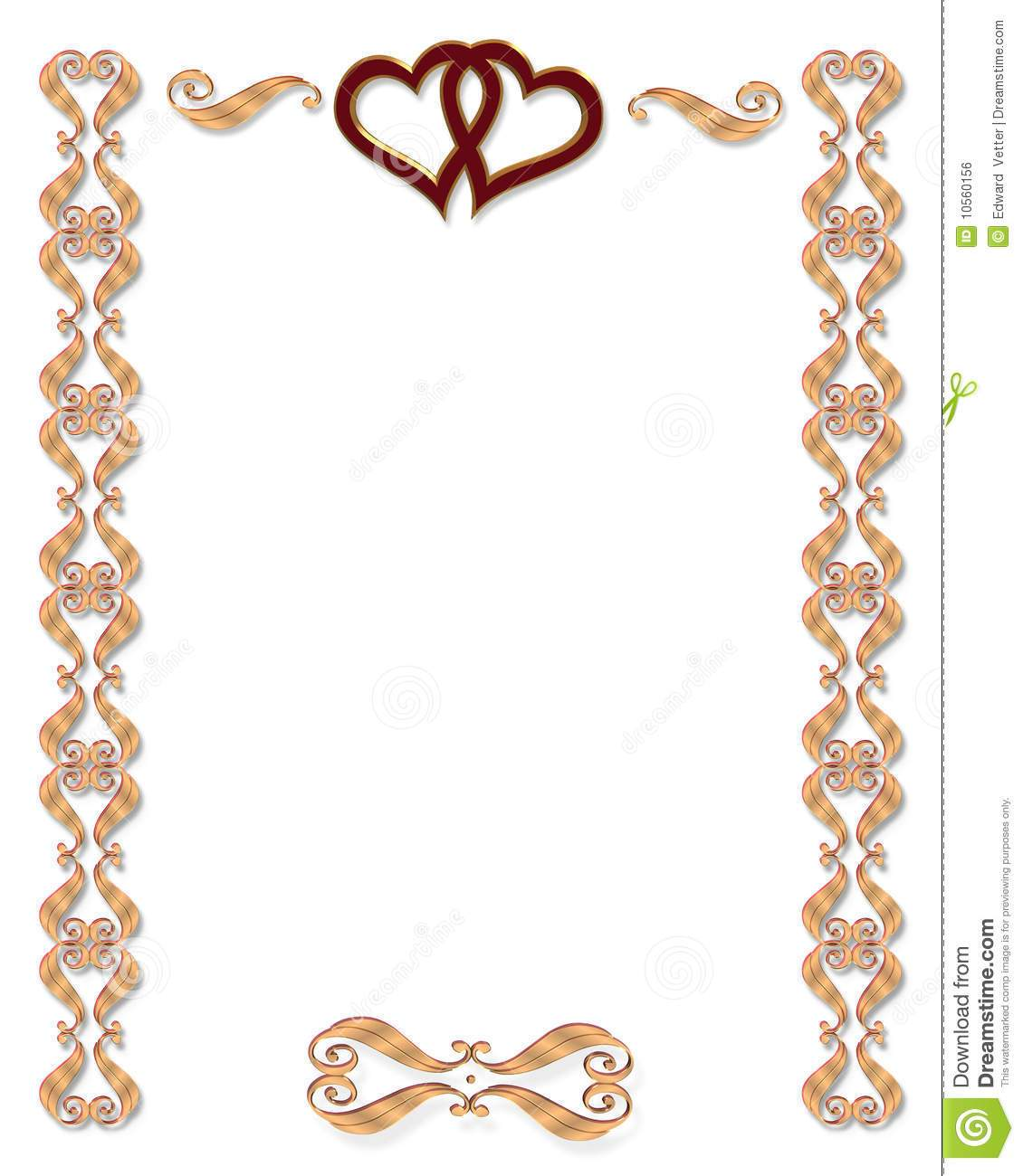 1130x1300 Free Wedding Borders For Invitations Images