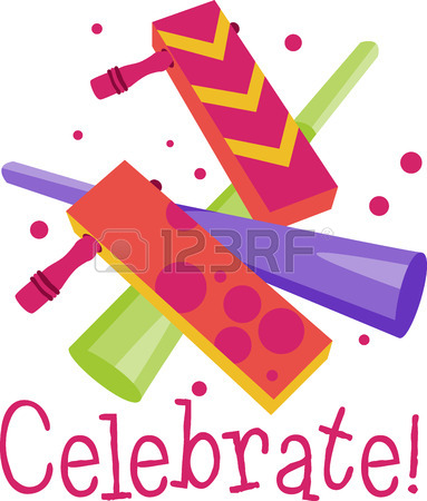 383x450 Add Some Pop To Your Party These Custom Party Blowers Are
