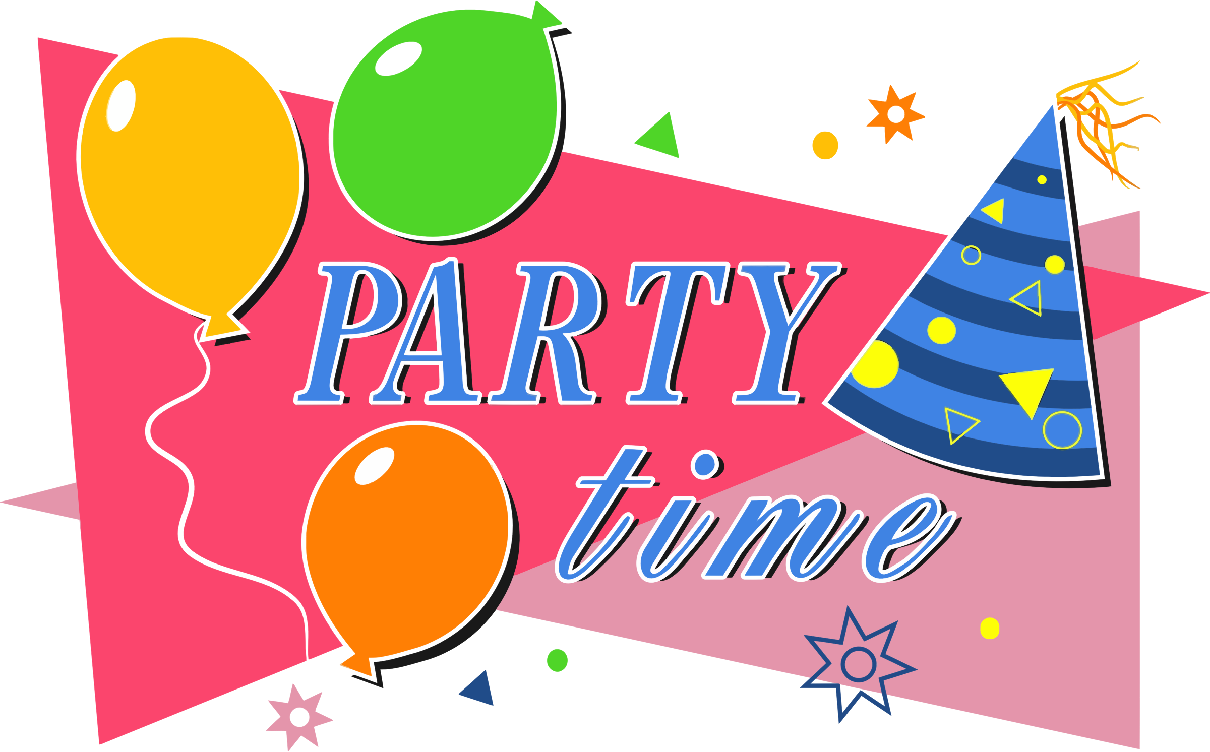 2400x1492 Celebration Clipart Party Time