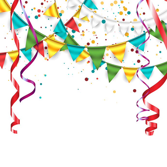690x690 Celebration Free Clipart