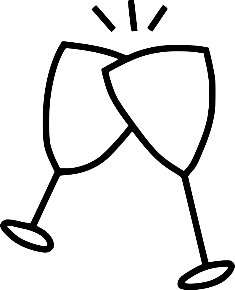 794x980 Cheers Drink Wine Glass Party Celebrate Svg Png Icon Free Download