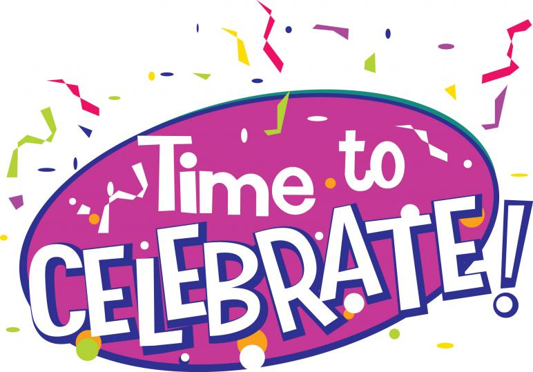 772x539 Time To Celebrate Clipart