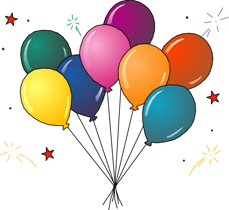 800x731 Celebration Party Clipart To Download Clipartcow