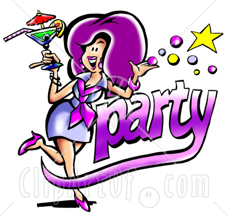 450x426 Clipart Party Pictures