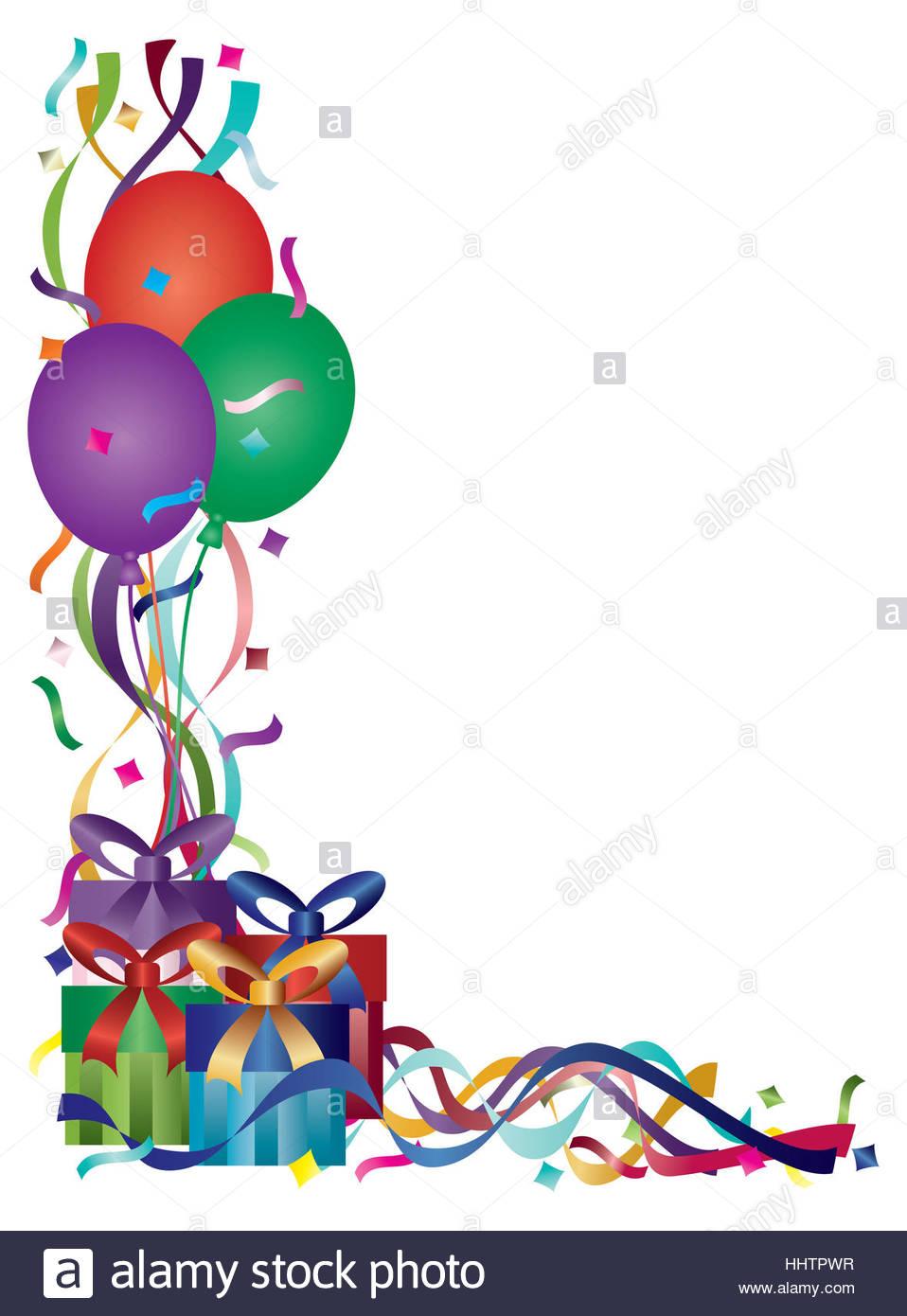 958x1390 Party, Celebration, Gift, Balloons, Ballon, Presents, Confetti