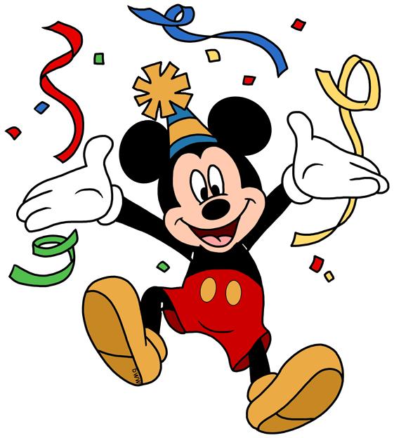 561x624 Disney Birthday Party Clip Art Images Disney Clip Art Galore