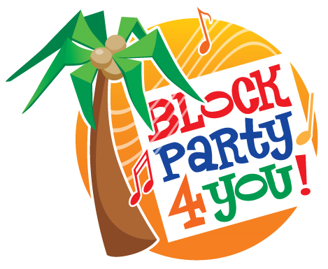 469x385 Neighborhood Party Clipart