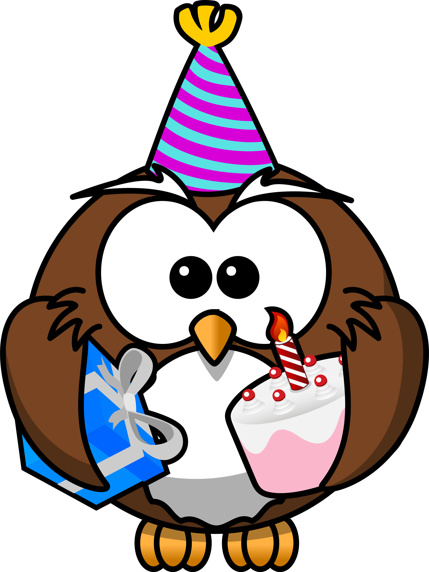 1800x2400 Party Clipart Owl