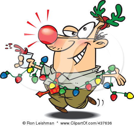 450x422 Clip Art Staff Christmas Party Clipart