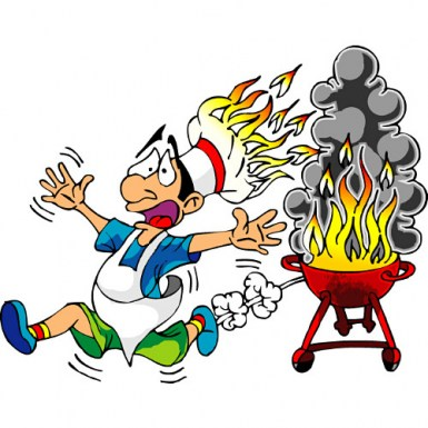 385x385 Summer Bbq Party Clip Art Free Clipart Images 3