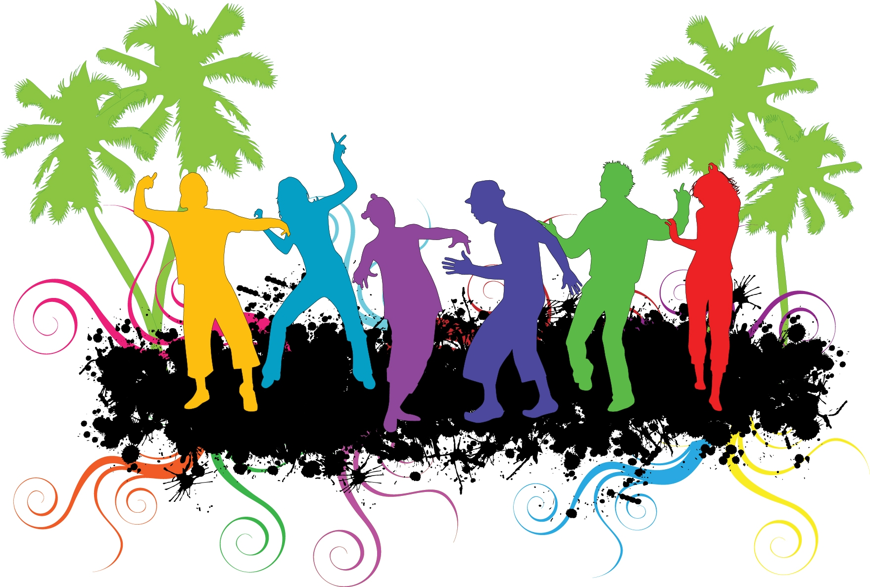 1758x1186 Party Dance Cliparts 243102