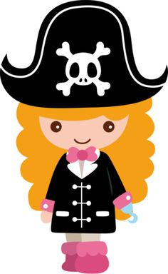 236x384 Pirate Girl Clip Art Pirate Theme Birthday Party