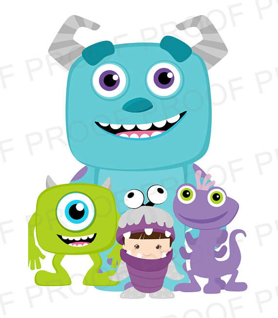 570x651 Monsters Inc Birthday Monsters, Inc. Birthday Favors Or Treat