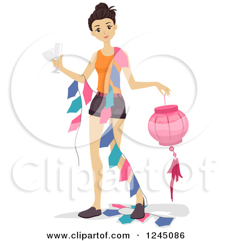 450x470 Party Decorations Clipart 1920379